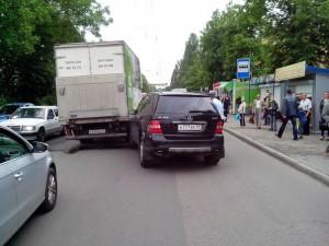 ДТП на Дзержинского 4 июня 2014 г