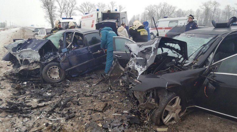 ДТП на трассе Гусев-Нестеров. Два человека погибли.