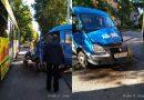 На Энгельса очередное серьезное ДТП с участием общественного транспорта