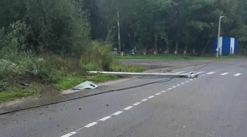 Авария в Багратионовске. Калининградская область. 23.09.17 примерно в 6:20 утра.