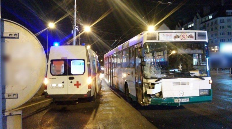 ДТП на Советском пр-те в Калининграде. Сегодня вечером.