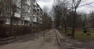 Самовольное перекрытие дорог в Калининграде.