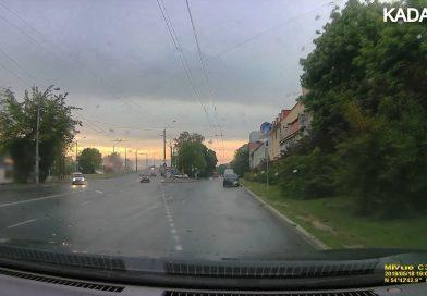 ДТП на пр-те Победы в Калининграде. 18.05.19