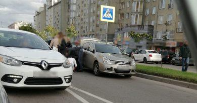 На ул. Гайдара в Калининграде.