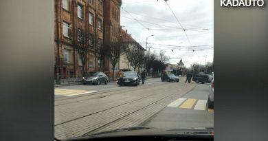 ДТП на ул. Черняховского в Калининграде. 02.04.20