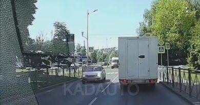 ДТП на ул. Герцена в Калининграде. 10.06.21