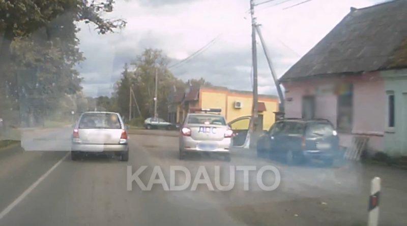 Преступление и наказание на дороге Калининград — Озерки.